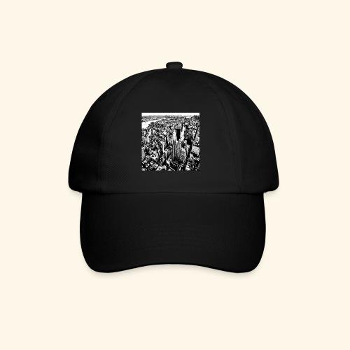 Manhattan in bianco e nero - Cappello con visiera