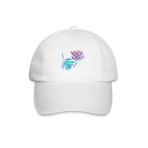 foglie geometriche - Cappello con visiera