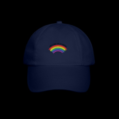 When it rains, look for rainbows! - Colorful Desig - Cappello con visiera
