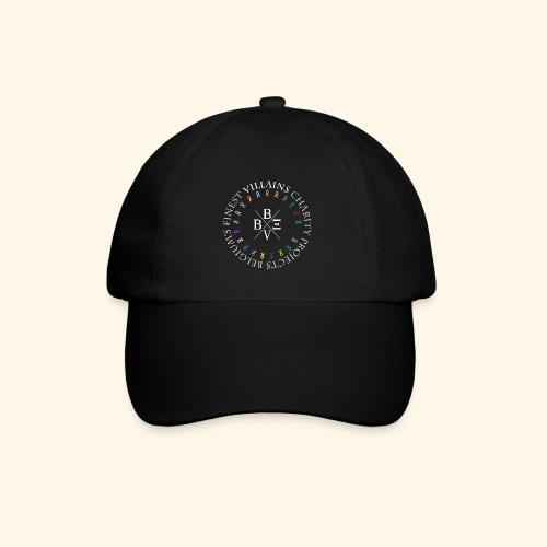 BVBE Charity Projects x factor white Charlemagne T - Baseball Cap