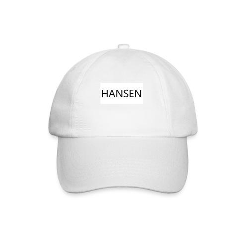 HANSENLOGO hvid - Baseballkasket
