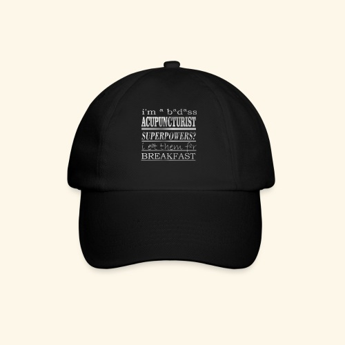 ACUPUNCTURIST - Cappello con visiera