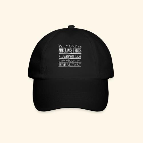AMBULANCE DRIVER - Cappello con visiera