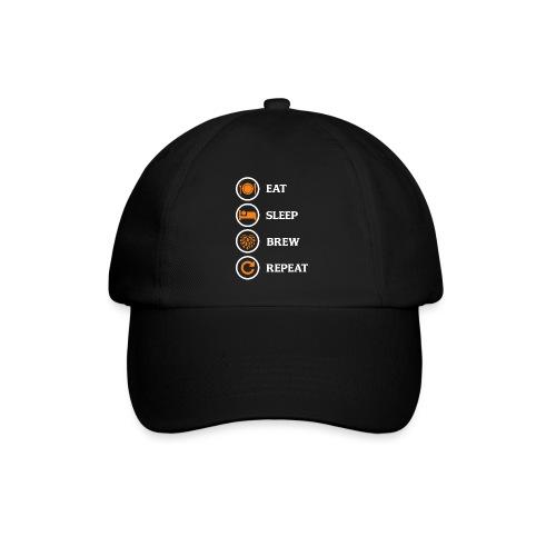 Eat Sleep Brew Repeat Brewers Gift - Baseball Cap