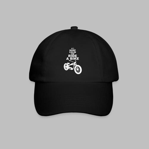 keep Calm and Ride a Bike Geschenkidee - Baseballkappe