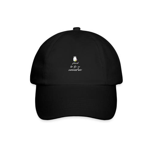 proud unicorn - Baseballkappe