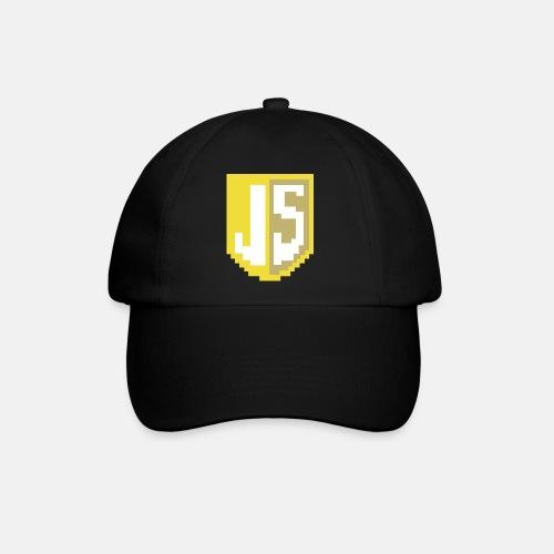 JavaScript Pixelart logo - Baseball Cap