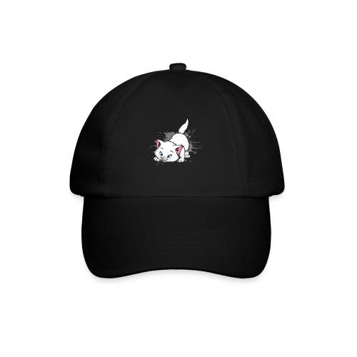 Katze Splash Pfützen Sprung - Baseballkappe
