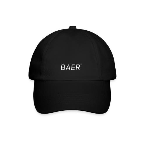 BAER Typografie - Baseballkappe