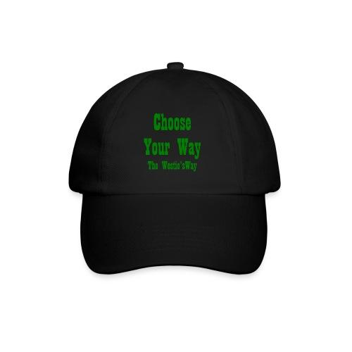 Choose Your Way Green - Czapka z daszkiem