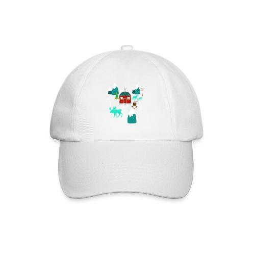 Weihnachten Elch I Geschenk Winterstimmung - Baseballkappe
