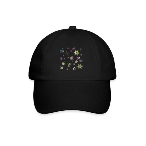 flowers and butterflies - Cappello con visiera