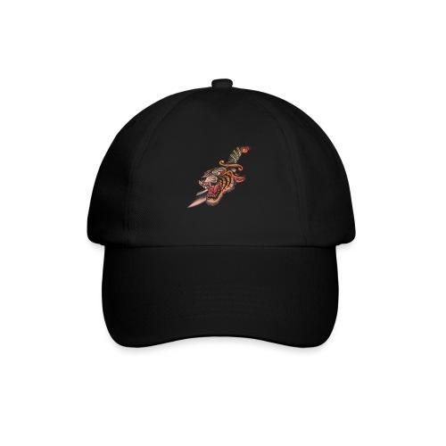 Tigre con coltello - Cappello con visiera