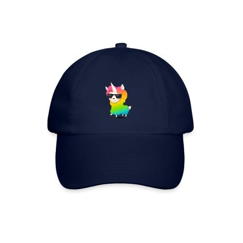 Regenboog animo - Baseballcap