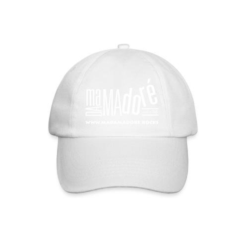 T-Shirt - Uomo - Logo Bianco + Sito - Cappello con visiera