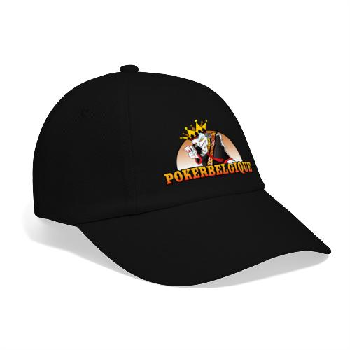 Logo Poker Belgique - Casquette classique