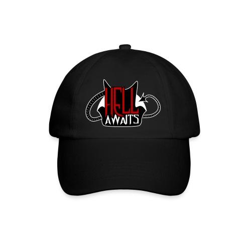 Hell Awaits -clean - Baseballcap