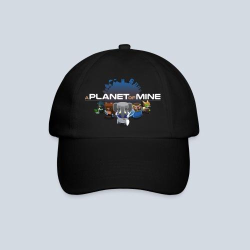 logo planetofmine dark HD - Casquette classique