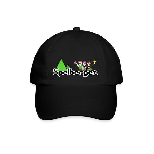 Spelberget logo - Basebollkeps