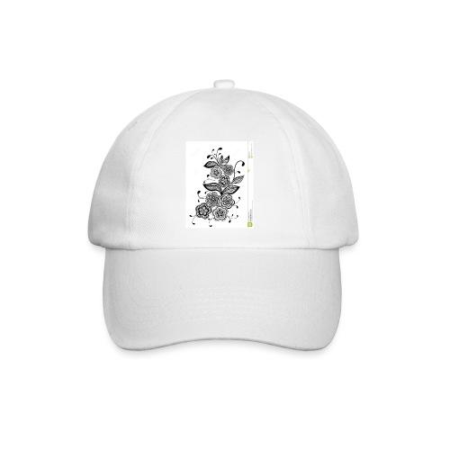 diseño de flores - Gorra béisbol