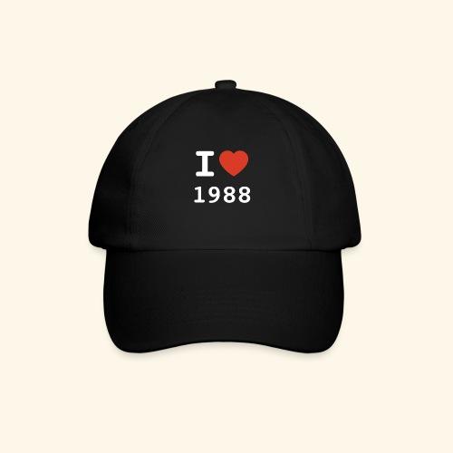I Love 88 w p 001 - Baseballkappe