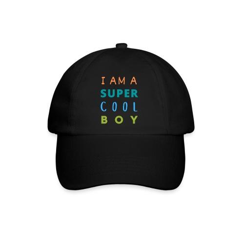 I AM A SUPER COOL BOY - Baseballkappe