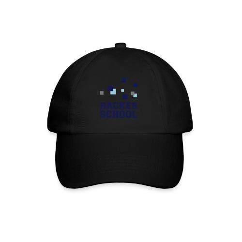 Hacker School Logo mit Pixeln - Baseballkappe