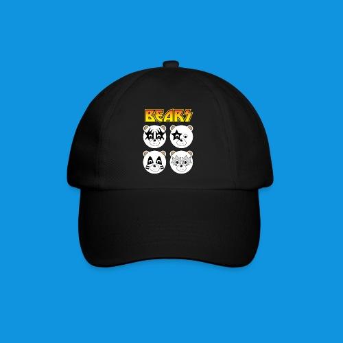 Kiss Bears square.png - Baseball Cap
