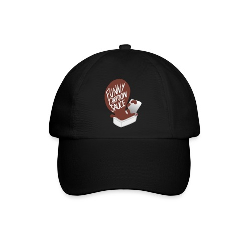 FUNNY CARTOON SAUCE - FEMALE - Baseball Cap