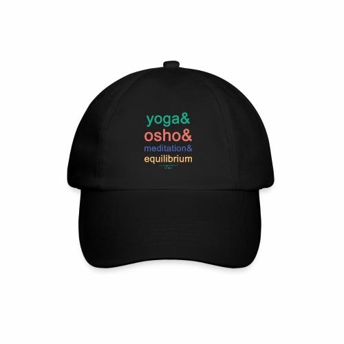 Yoga& Osho& Meditation& Equilibrium - Baseball Cap