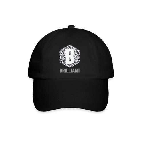 B brilliant grey - Baseballcap