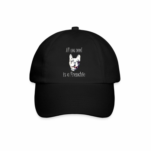 Französische Bulldogge T-Shirt Frenchie - Baseballkappe