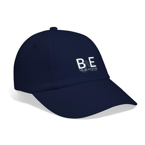 be to blossom swoosh (white) - Baseball Cap