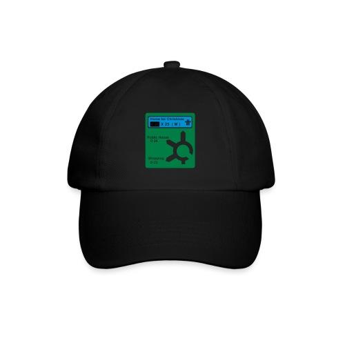 HOME_FOR_CHRISTMAS_SIGN - Baseball Cap