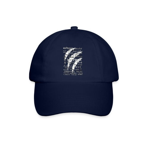 Werewolf in 33 Languages (Black Ver.) - Baseball Cap