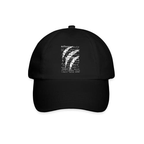 Werewolf in 33 Languages (Black Ver.) - Baseball Cap