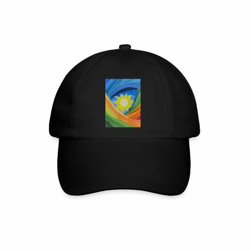 lachende-sonne - Baseballkappe