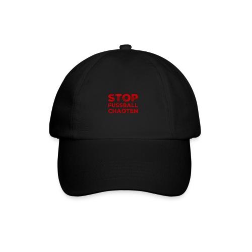 Stop Fussball Chaoten - Baseballkappe
