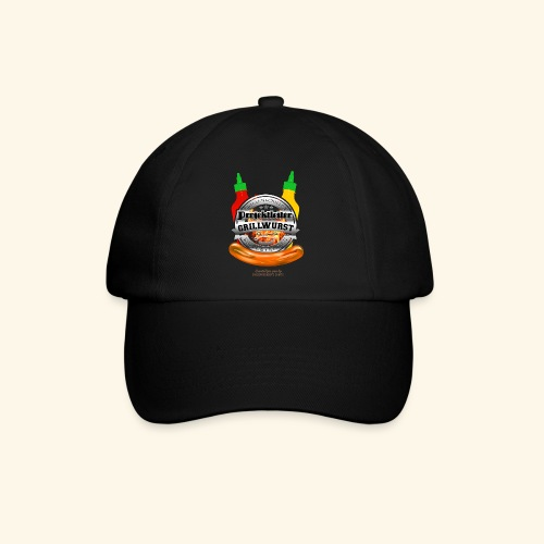 Grillen T Shirt Projektleiter Grillwurst - Baseballkappe