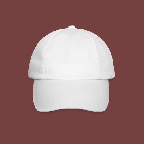 bouuff hvit tekst - Baseballcap