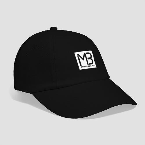 Logo MB Graphic Designer White - Cappello con visiera