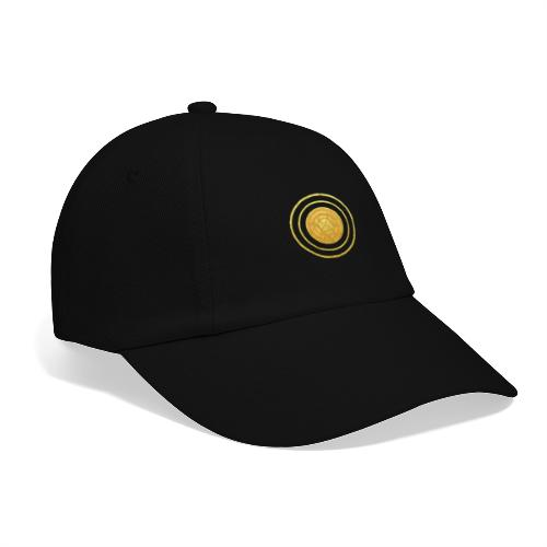 Glückssymbol Sonne - positive Schwingung - Spirale - Baseballkappe