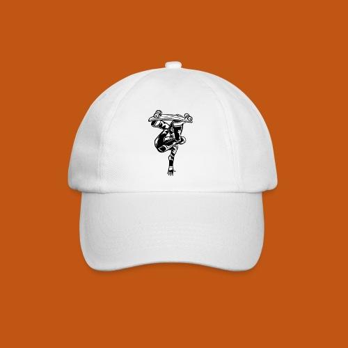Skater / Skateboarder 03_schwarz weiß - Baseballkappe