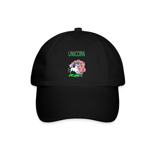 Einhorn unicorn - Baseballkappe