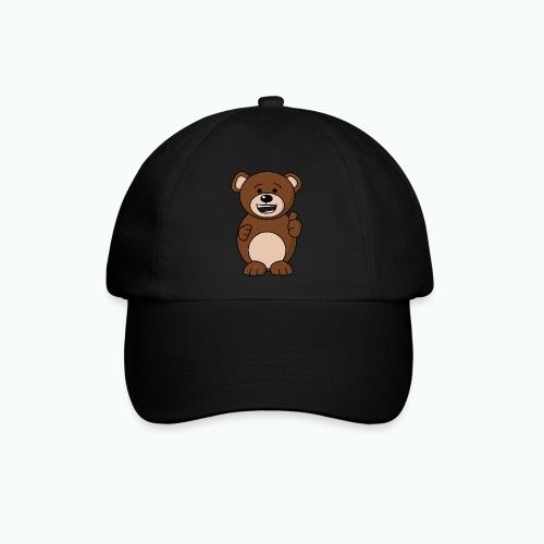 Bruno Bear Happy - Appelsin - Basebollkeps