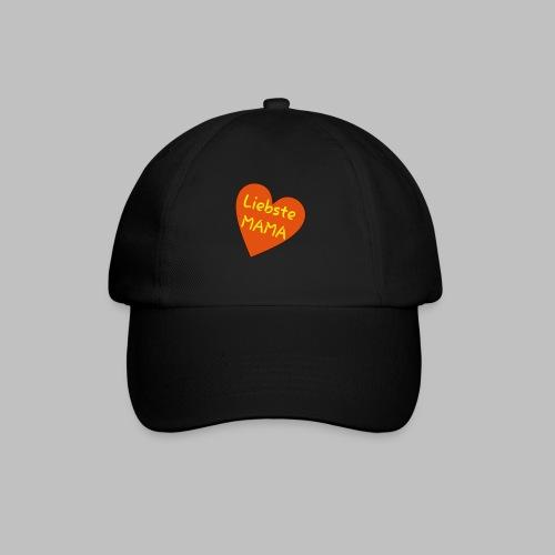 Liebste Mama - Auf Herz ♥ - Baseballkappe