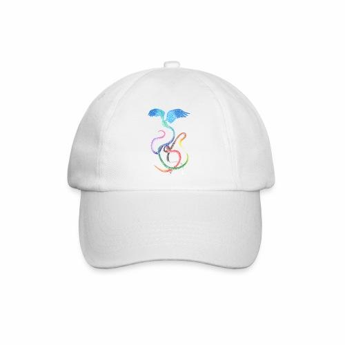 Graceful - Rainbow Bird in Ink - Baseball Cap