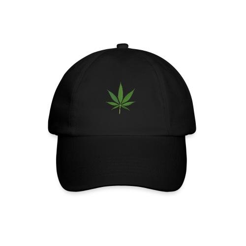 2000px-Cannabis_leaf_2 - Baseballkasket