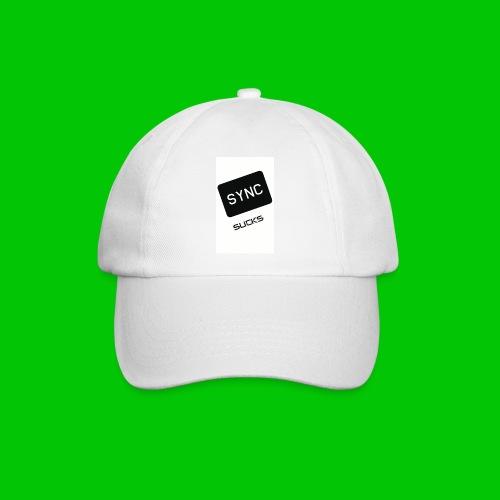 t-shirt-DIETRO_SYNK_SUCKS-jpg - Cappello con visiera