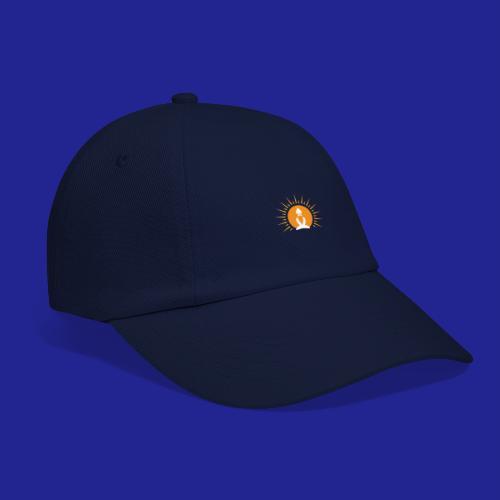 Guramylyfe logo white no text - Baseball Cap
